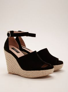 Torrid Collection Center Stitch Platform Wedges (Wide Width) | Torrid