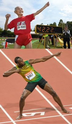 """Japan's 'Golden Bolt' is not impressed by gold medalist Usain Bolt: """"He hasn't raced me, yet!"""""""