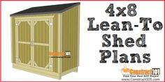 plans DIY shed plans - Easy and fun weekend building tips. DIY shed plans - Easy and fun weekend building tips. Shed Plans 12x16, Lean To Shed Plans, Free Shed Plans, Shed Building Plans, Coop Plans, Garage Plans, Simple Workbench Plans, Sawhorse Plans, Wood Bench Plans