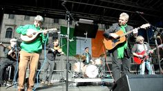 St. Patricks Day Parade 2017 in  Munich am 12.03  Dieter Reiter and the ...