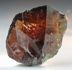Ferro-Axinite - Puyva, Tyumen Oblast, Ural Mountains, Russia.
