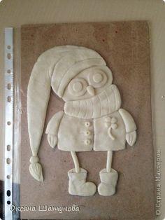 Поделка изделие Лепка Мои совы соленое тесто Тесто соленое фото 1