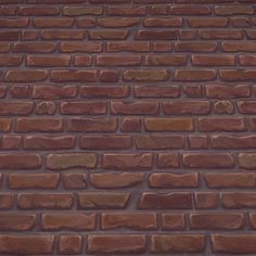 Brick Wall | Hand Painted Textures