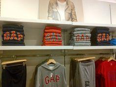 Blitz: GAP - Morumbi Shopping - detalhes de exposição - Falando de Varejo