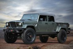Jeep's Crew Chief 4x4 Pays Tribute To Its Classic Military Roots