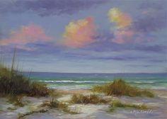 Afternoon on the Gulf - Original Fine Art for Sale - © Martin Figlinski