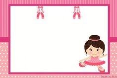 Imprimibles de niña Bailarina gratis