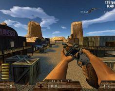 Smokin' Guns - Freeware - Descargar Gratis Juego PC. Download Free Game - Videojuego de disparos Multiplayer en primera persona (FPS). Adaptación original del motor de Quake 3 al Salvaje Oeste.