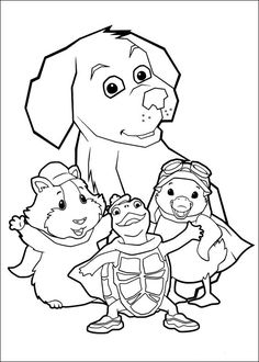 Wonder Pets Coloring Pages 1