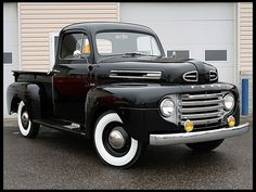 A Brief History Of Ford Trucks – Best Worst Car Insurance 1950 Ford Pickup, 1952 Ford Truck, Old Ford Pickups, Old Pickup Trucks, Lifted Ford Trucks, Chevy Trucks, Pickup Camper, Jeep Pickup, Ford 4x4