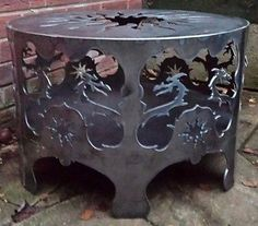 #Bespoke celtic #dragon sun #steel fire pit patio heater chiminea camping barbequ,  View more on the LINK: http://www.zeppy.io/product/gb/2/302211025427/