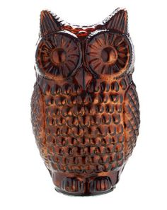 lit owl #woodland  #trends #animals #cute #winter #home #yourhomemagazine #decorating #fox #owl #squirrel