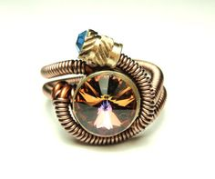 steampunk wire ring
