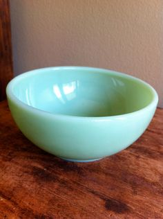 Jadite chili soup cereal bowl Fire King Anchor Hocking