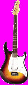 Monterey Mgs-12sb Sunburst Electric Guitar $116 from JB HiFi