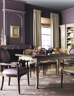 Dining set - love the table - The Milling Road Collection | Baker Furniture
