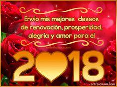 Feliz 2018 en entrelaluna