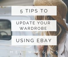 Ethical Fashion - 5 Tips to Update Your Wardrobe Using eBay —