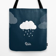 Weather - Rain Tote Bag
