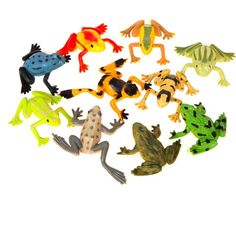 Frog Party Favours 10 Pack | Hobbycraft