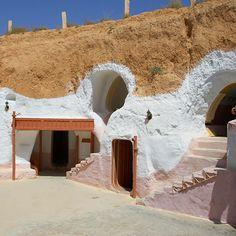 World's Quirkiest Hotels: Hotel Sidi Driss; Matmâta, Tunisia