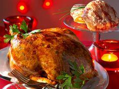 Découvrez la recette Chapon farci sous la peau sur cuisineactuelle.fr.