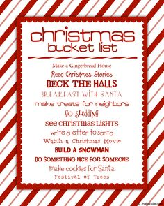 Christmas Bucket List…FOR THIS YEAR!-There are so many things DJ has never d… Christmas Bucket List…FOR THIS YEAR!-There are so many things DJ has never done that its time to experience the fun of the holidays even when you're an adult… Merry Little Christmas, Family Christmas, All Things Christmas, Winter Christmas, Christmas Ideas, Christmas Decorations, Christmas Countdown, Holiday Decorating, Christmas Salon