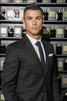 Cristiano Ronaldo Photos - Cristiano Ronaldo Launches His Debut Fragrance, Cristiano Ronaldo Legacy - Zimbio