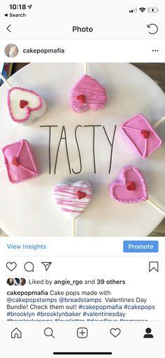 Cake Pop Mafia Valentines Day Cakes, Sugar Art, Sweet Cakes, Mafia, Cake Pops, Desserts, Tailgate Desserts, Deserts, Postres