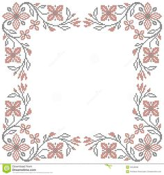 Grand Sewing Embroidery Designs At Home Ideas. Beauteous Finished Sewing Embroidery Designs At Home Ideas. Local Embroidery, Types Of Embroidery, Learn Embroidery, Cross Stitch Embroidery, Cross Stitch Borders, Cross Stitch Flowers, Cross Stitch Patterns, Border Embroidery Designs, Embroidery Patterns