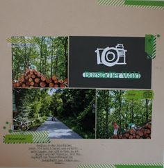 Layout by Susanne Vowinkel Layouts, Blog, Pictures, Woodland Forest, Blogging