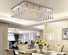 Lifeplus Modern Luxury Chandelier with 12 LED lights in Crystal - traditional - ceiling lighting - other metro - Lifeplus Lighting Luxury Chandelier, Modern Luxury, E Design, Ceiling Lights, Led, Traditional, Home Decor, Crystal, House Design