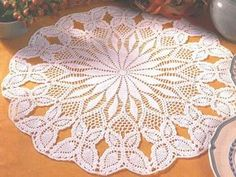 Free Crochet Patterns To Print   gift presents: crochet tablecloths pattern, crochet for home decor