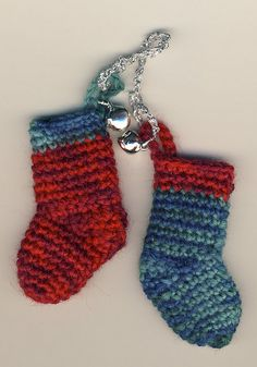 xmas stocking ornaments by cherryred2001, via Flickr