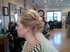 wedding updo with veil - Google Search