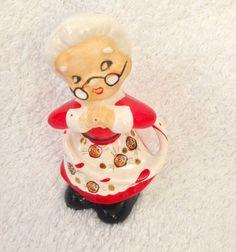 Vintage Napco Christmas Santa Mrs Claus Hula Hoop  by crazy4me, $45.00