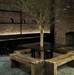 Modern Restaurant Design : Tartinery Nolita by Michel Abboud