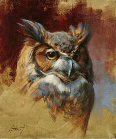 Guests may visit with Colorado artists Ed Kucera, Quang Ho, Edward Aldrich (shown), Robert Spooner a Wildlife Paintings, Wildlife Art, Animal Paintings, Animal Drawings, Art Drawings, Horse Drawings, Drawing Art, Paintings Of Owls, Owl Artwork