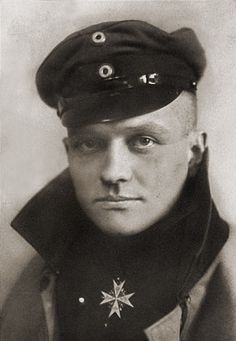 Manfred von Richthofen (1892-1918), known as the Red Baron. He was the highest scoring fighter ace of the First World War with 80 confirmed victories.
