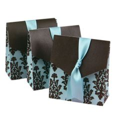 Save 50% on this Wedding Turquoise Favor Box. 12 pcs set for average $0.50 each with free shipping