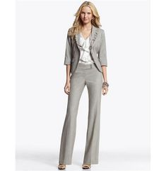 Calvin Klein Stretch Blend Suit Separates Collection - Womens
