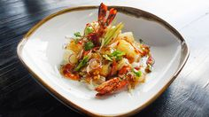 Cambodian Prawn and Pomelo Salad   Asian recipes and some of their history.