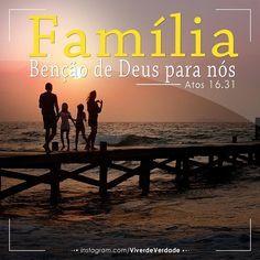 """""""Crê no Senhor JESUS CRISTO e será salvo, tu e a tua casa."""" Atos 16:31 É preciso acreditar nessa promessa, pois Deus tem um plano especial para a sua família. A condição para que essa promessa se cumpra é FÉ, esse ingrediente faz a diferença. Apartir..."""