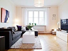 living room. light color wood