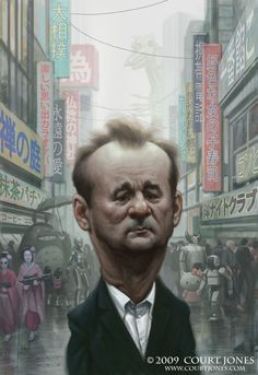www.courtjones.com images large_ill_humor Bill-Murray-Lost-Caricature.jpg