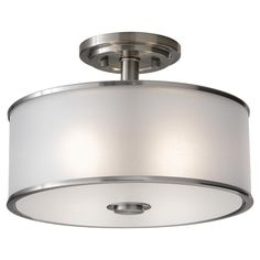 2- Light Indoor Semi-Flush Mount : SF251BS | Lighting Concepts