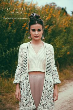 JESSICA VELEZ SPRING 14 MADE IN COLLABORATION WITH ARTISANS FROM COLOMBIA WWW.JESSICAVELEZKNITWEAR.COM