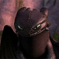 Toothless. The most adorable thing ever. (gif)
