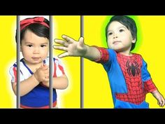 Snow white baby goes to jail and has to call on spider baby to help rescue her when Joker gives snow white baby a crown! Funny superhero video by Superhero F. Spiderman And Frozen, Princess Anna, Disney Princess, Prank Videos, Elsa Frozen, Maleficent, Pranks, Rapunzel, Hulk