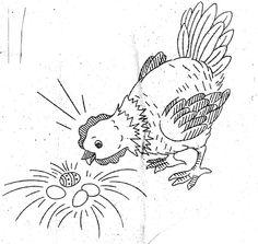 Design 837 Hen with Eggs by AuntieLovesKitsch, via Flickr